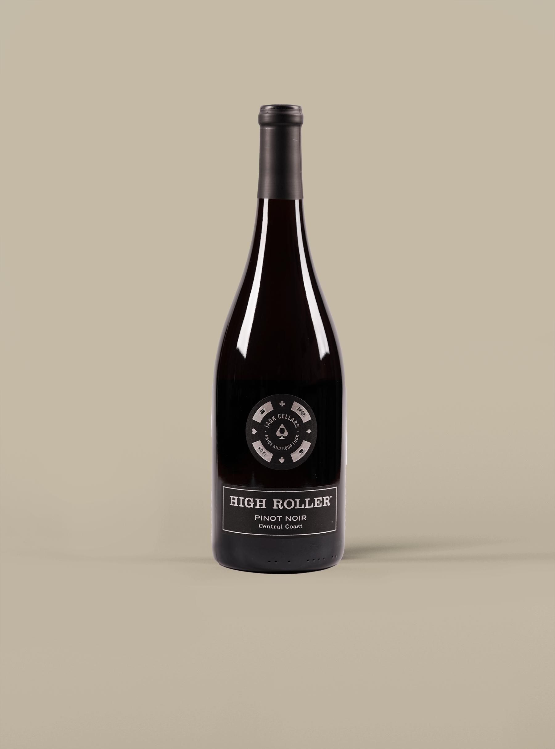 JAQK Cellars, High Roller Central Coast Pinot Noir