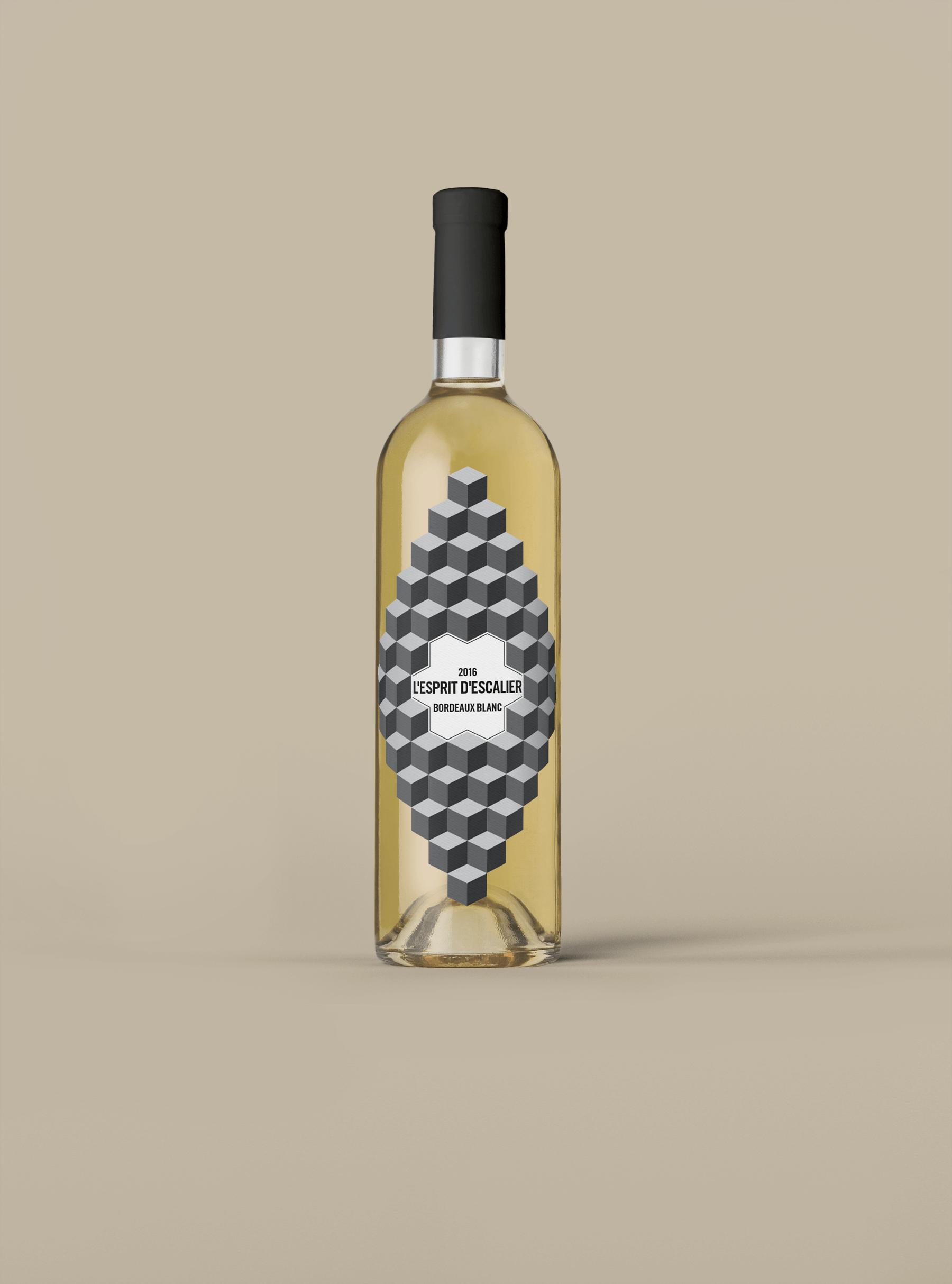 LEsprit de LEscalier Bordeaux Blanc