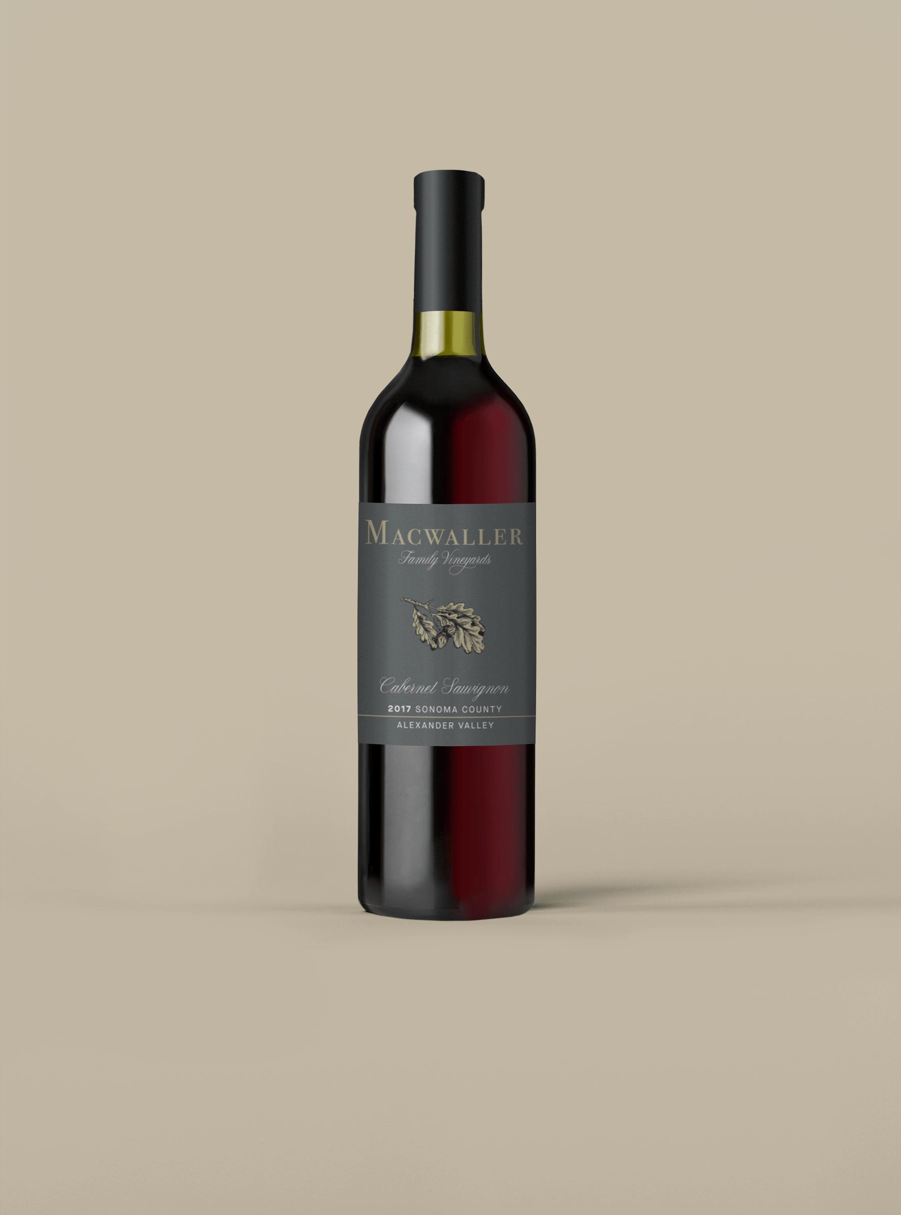 Macwaller Family Vineyards Cabernet Sauvignon Alexander Valley