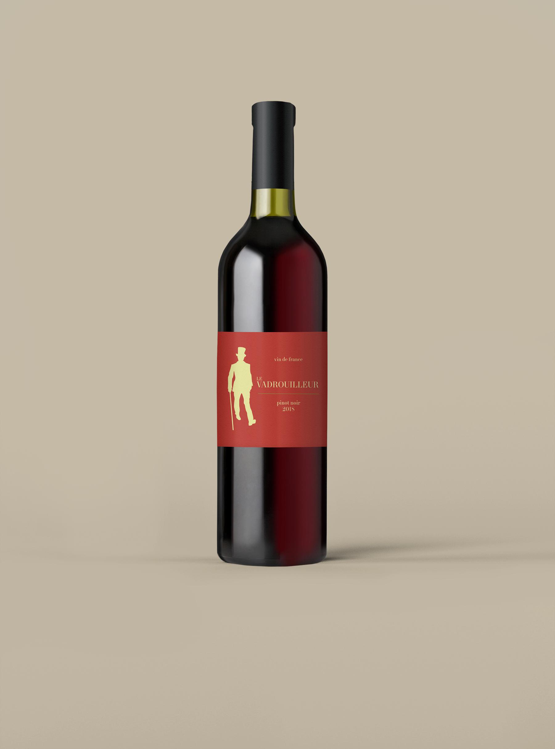 Le Vadrouilleur Vin de France Pinot Noir