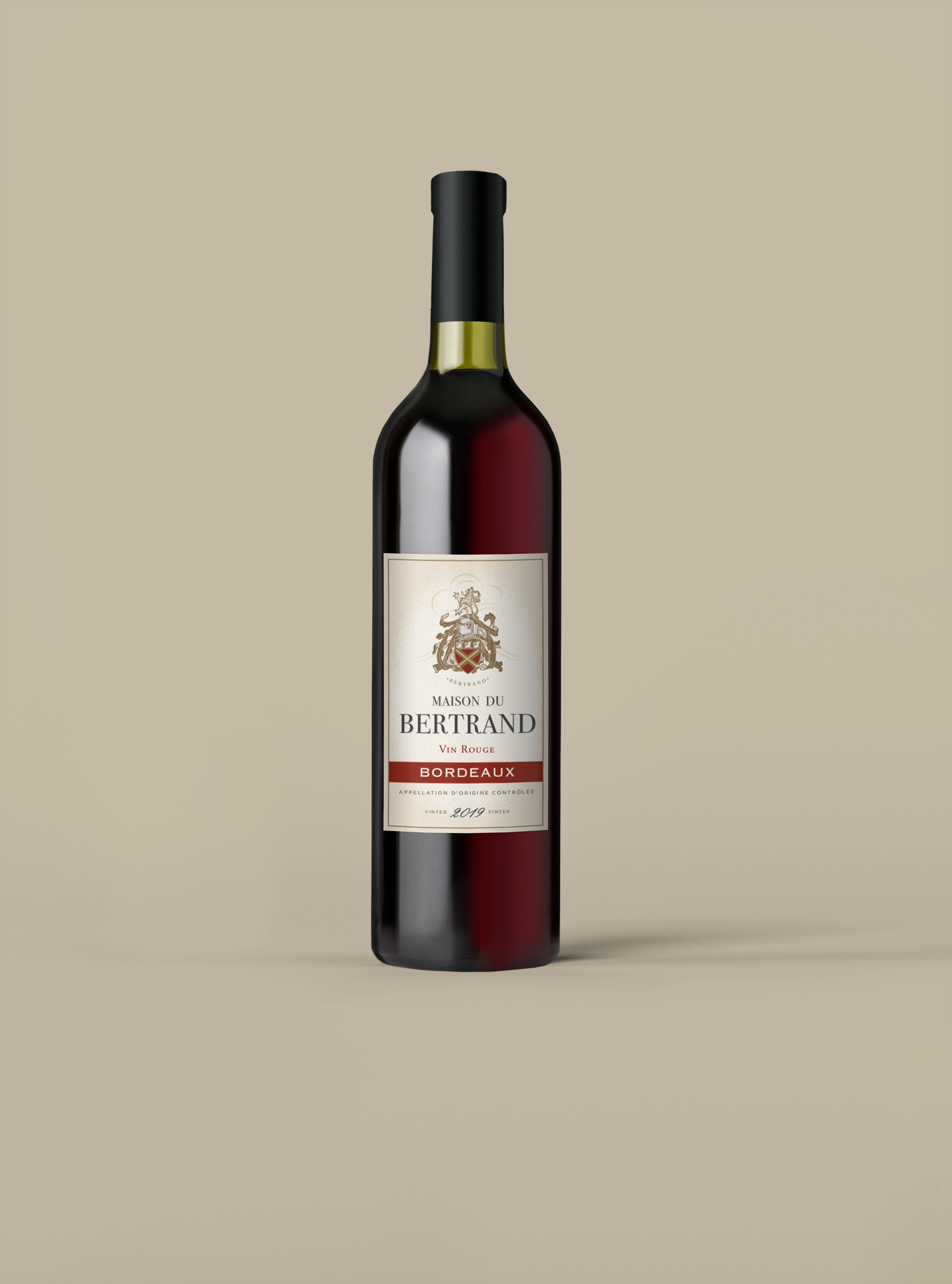 Maison Du Bertrand Bordeaux Vin Rouge
